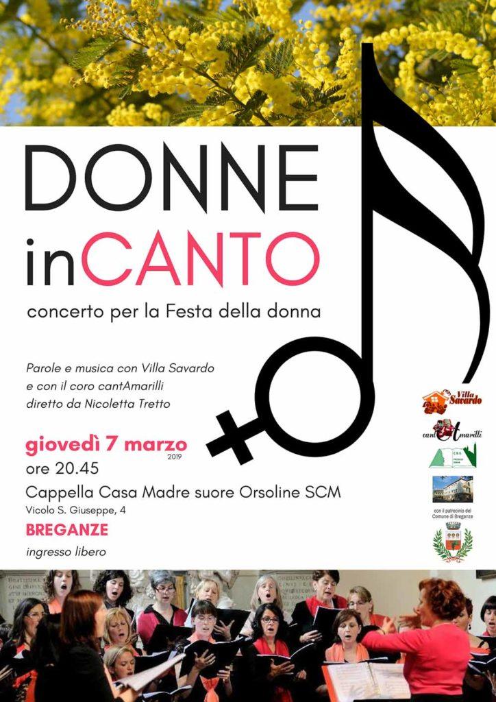 locandina concerto donne incanto