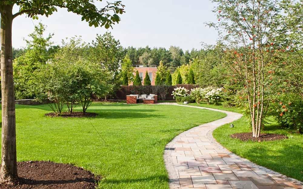 il giardino di villa santangela